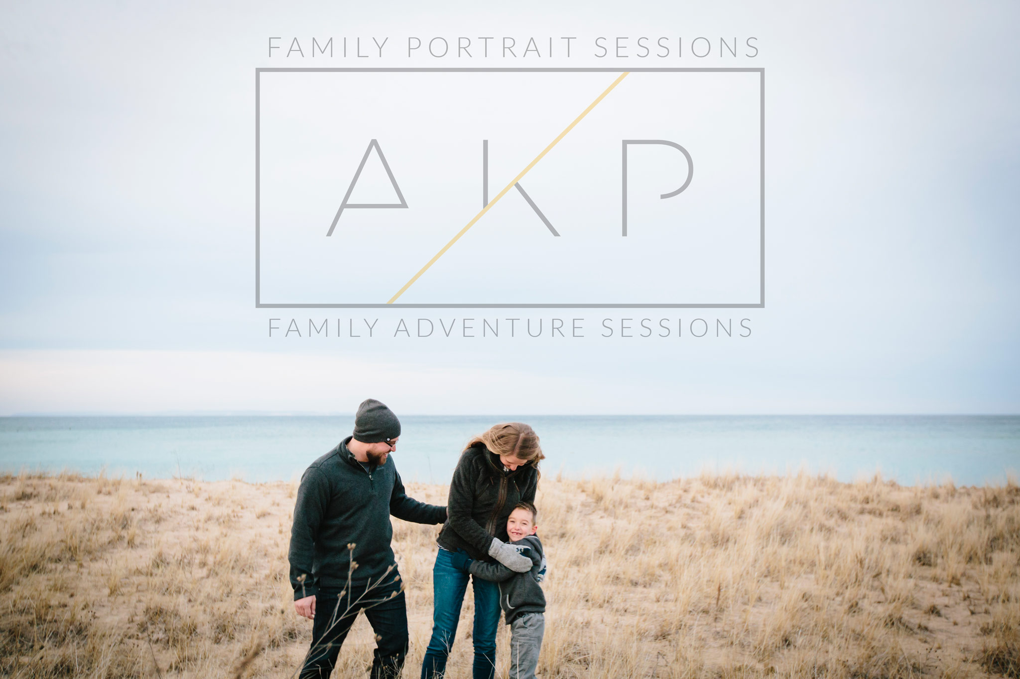 northern michigan family portrait photography