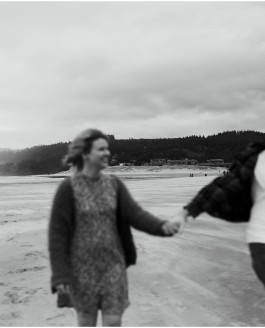Megan + Joel // cannon beach