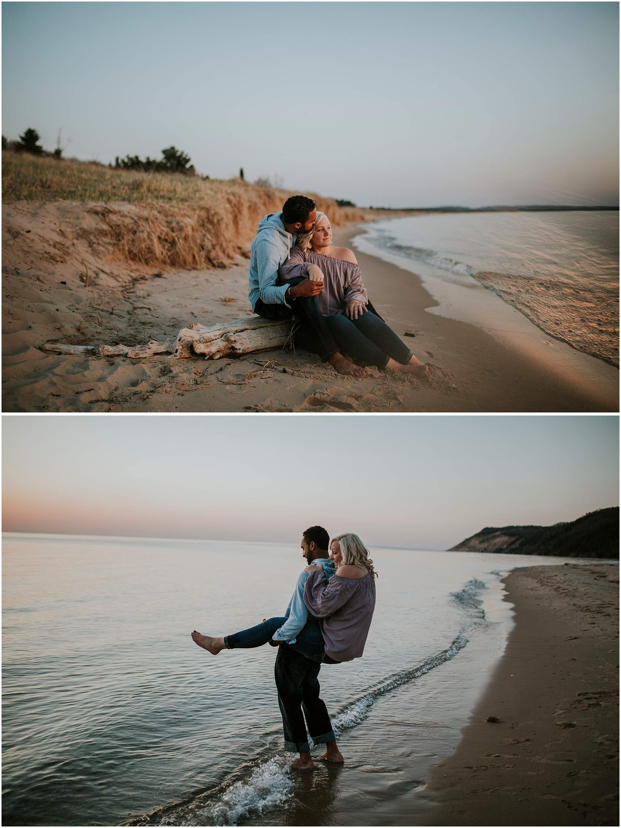 Kayla Cody Northern Michigan Engagement Photography