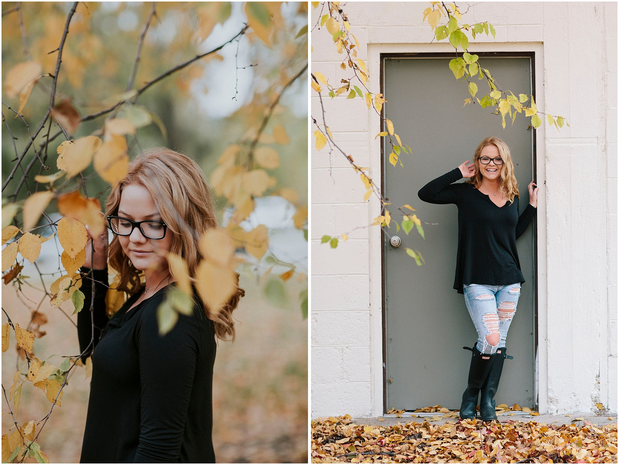 Traverse City Senior Portrait photography