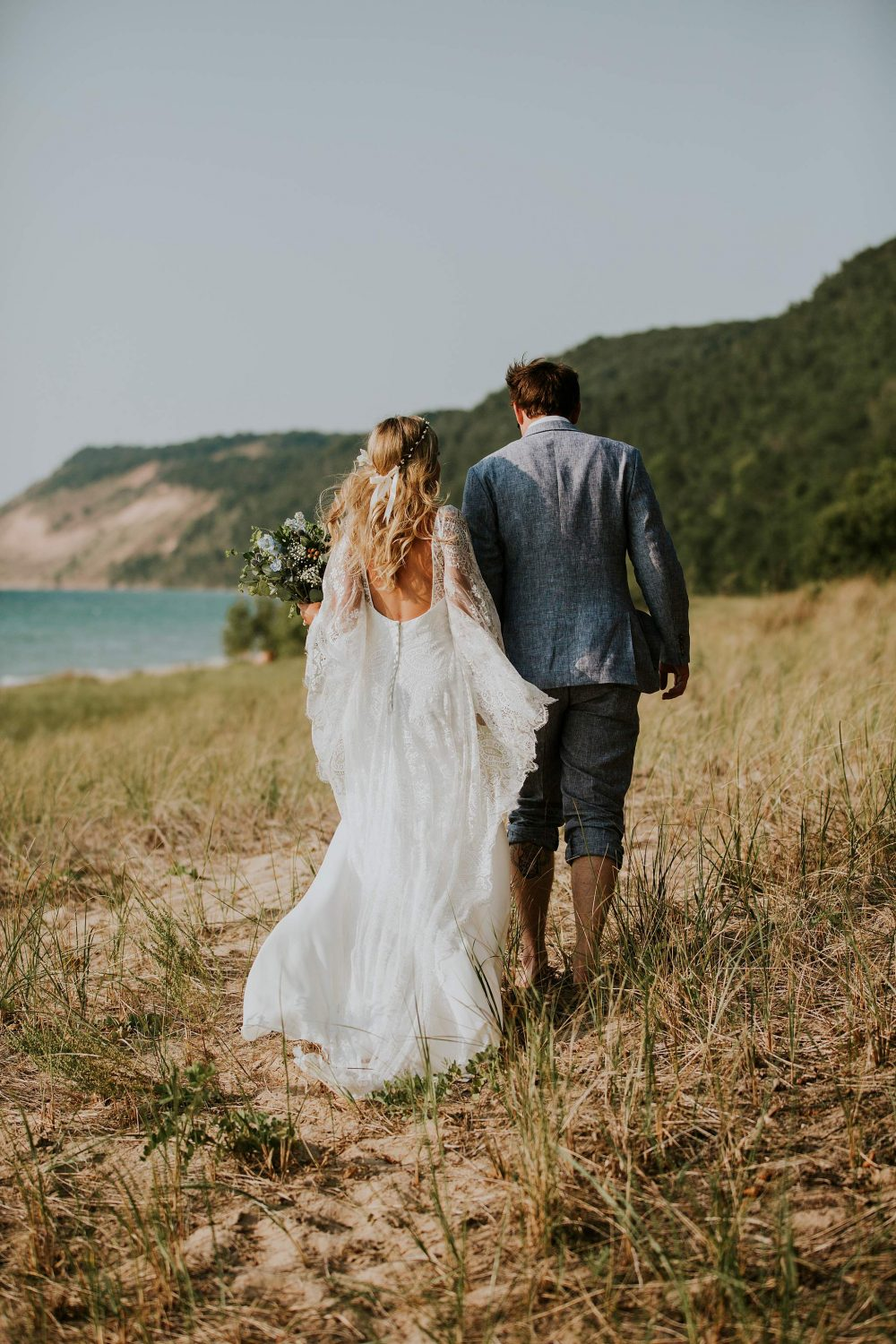 sleeping bear dunes wedding photographer